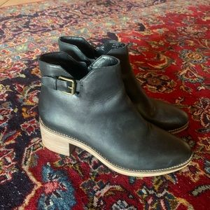 Cole Haan leather booties!